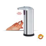 Dispenser Automatico Jabon Liquido Detergente Acero 250 Ml.