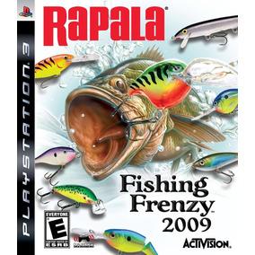 Jogo Rapala Fishing Freenzy 2009 Ps3 Mídia Física Perfeito