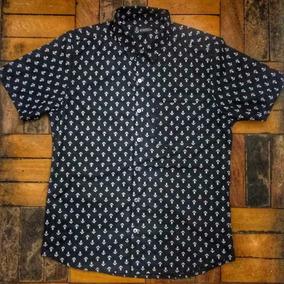 Camisa Estampa Ancora - Camisa Masculino no Mercado Livre Brasil 842b975178a