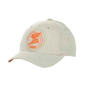 Puma Applique Cap Hombre Flexfit Hat (naranja De Color Caqu a43090e7d0f