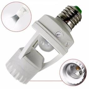 Sensor Presença Infravermelho Lâmpadas E27 E Led Fotocélula