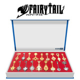 Fairy Tail, Econoled 18pcs Fairy Tail Lucy Corazón Lla...