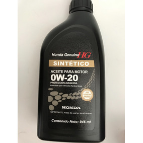 1 Lt Aceite Sintetico Original Honda Accord Civic Fit City