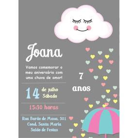 Convite Digital Chuva De Amor Convites Em Minas Gerais No Mercado