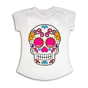 Playeras Dia D Muertos, Halloween, Frida Mayoreo Mod 77
