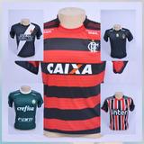 Camisa De Time Brasileiro Europeu Kit 5 Camisas