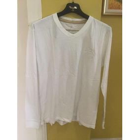 Camiseta Brooksfield Branca Básica 100% Algodão Peruano a7a07f3188bbe