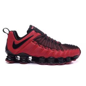 Nike Shox 12 Molas Vermelho - Nike para Masculino no Mercado Livre ... bcdce0c5a03cb
