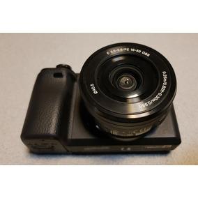 Sony Alpha A6300 + Brinde(cartão De Memória/ Filtros/ Case)