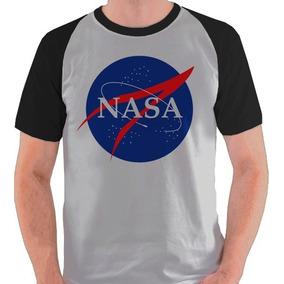 1f71340f2 Camiseta Nasa Manga Longa - Camisetas para Masculino no Mercado ...
