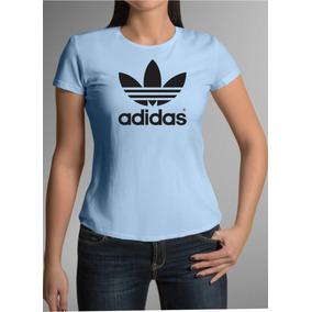 Camiseta Azul Bebe adidas Feminina Do Pp Ao G5 d4f2eece83b7d