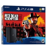 Consola Sony Playstation Ps4 Pro 1tb Red Dead Redemption Ii