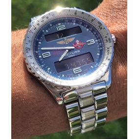 Relógio Breitling Chronospace Limitado, Único No Brasil