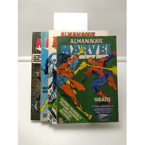 Almanaque Marvel Nº 6 Ao 16 - Rge