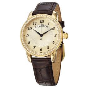 Reloj Ultra Slim Classy Dama Piel Cocodrilo 651.02 Stührling