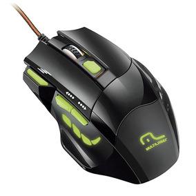 Mouse Gamer Usb Multilaser Mo208 7 Botões 2400 Dpi