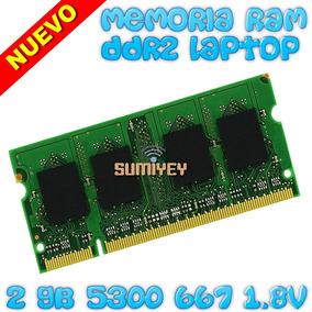 #19 Ram 2gb Ddr2 667mhz Pc2-5300 Kingston 1.8v Cl5 Laptop