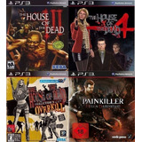 Pack House Of The Dead + Juego Extra ~ Ps3 Digital Español