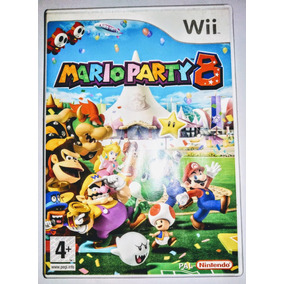 Wi - Mario Party 8 (português) - Original Europe