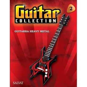 Miniatura Guitarra Heavy Metal Guitar Collection Salvat 2