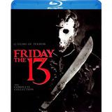Coleccion Completa Martes 13 Friday The 13th Bluray Latino