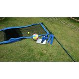 Kit Beach Tennis - Desmontável Profissional Poste+rede+faixa