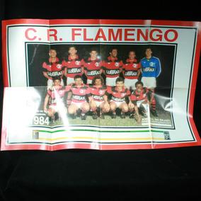 Pôster Do Flamengo Campeão Da Taça Guanabara De 1984