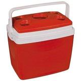 Caixa Térmica Obba 32 Litros Vermelha 42 Latas