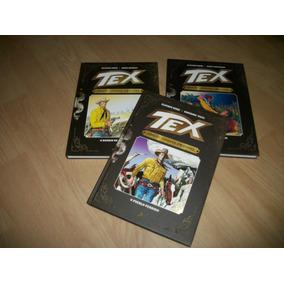 Tex Gigante Colorido Nºs 1,4,5,7,8,10 E 11 - Capa Preta