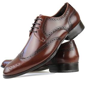 b28f13a5f Sapato Social Oxford Masculino Couro Legitimo Preto Solado