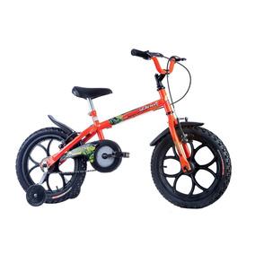Bicicleta Infantil Dino Neon Aro 16 - Track Bikes