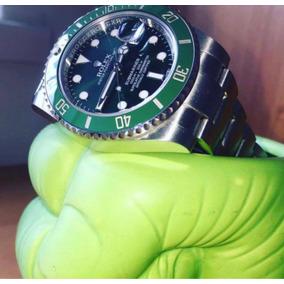 Reloj Rolex Submariner Hulk Swiss 116610v