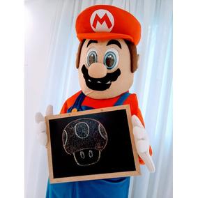 Fantasia Super Mario - Aluguel - R$150,00