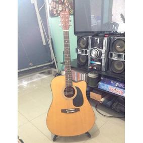 Guitarra Electro Acustica Jacobs Incluye:forr, Paral Y Cable
