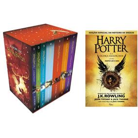 Box Livro Harry Potter Edição Premium + Harry Potter Livro 8