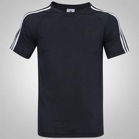 Camiseta Masculina adidas Ess 3s Egb Tee Tamanho M Preta