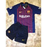 Camisa E Short Oficial Barcelona - Camisa Barcelona no Mercado Livre ... 160f9f7e8d052