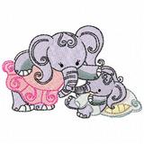 Matriz Bordado Elefante - Insumos Matrizes para Bordados no Mercado ... b607f0096a9