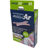Dilatador Nasal Mais Ar Pequeno Medio Cx 15 Unid Anti Ronco