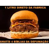 Fumaça Líquida Especial P/ Hambúrguer Gourmet Defumado ;)