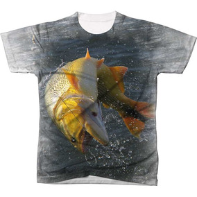 62502e7db4 Blusa Pesca Sub - Camisetas Manga Curta para Masculino no Mercado ...