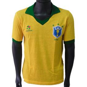fda6afed0 Camisa Retro Brasil - Camisas de Futebol no Mercado Livre Brasil