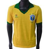 Camisa Retro Brasil - Camisa Brasil Masculina no Mercado Livre Brasil 70a3bcfd6b4d2