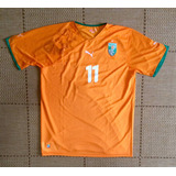 Camisa Drogba Costa Do Marfim no Mercado Livre Brasil 436dbb1885104