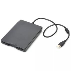 Drive Usb Diskette 1.44mb Floppy Diskette Drive - Preto
