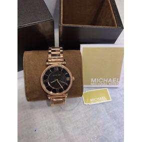 Relógio Michael Kors Mk8189 Preto E Rose. Pronta Entrega - Relógios ... 0ede173cd3