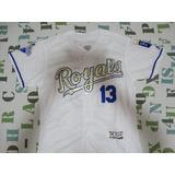 c0170cd396 Camisa Mlb Baseball Kansas City Royals Salvador Pérez