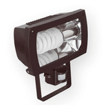 Reflector + Lampara Led E27 Sensor Movimiento + Fotocelula