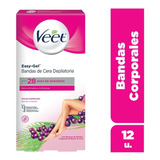 Veet Bandas Depilatorias Corporales Piel Normal Y Sensible