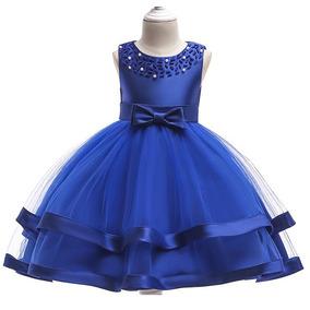 4deff3af3 Vestido De Fiesta Para Niña Elegante Vestido Boda Niña 3 A 9 · 5 colores
